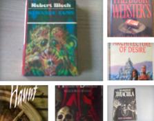 BOOKWORKS CHICAGO SCIENCE FICTION HORROR FANTASY COLLECTION.